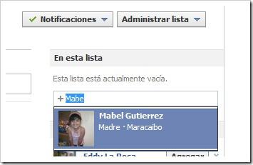 Añadir nuevo mejor amigo en Facebook