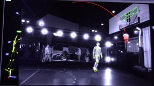 Affichez les images pour voir les trajectoires des mouvements des corps humains