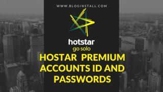 Hotstar premium account username and password 100% working