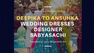 ansuhka deepika wedding dresses obsessed with designer sabyasachi
