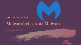 Malwarebytes Anti-Malware free Premium keys - BlogInstall.com