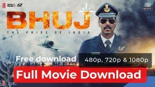 Bhuj Movie Download free in 480p, 720p, 1080p, Filmyzilla, Movierulz, Filmywap, Tamilrockers, 9xmovies, khatrimaza