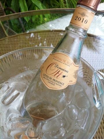 Primeira fotogarfia publicada no artigo Um rosé de Provence