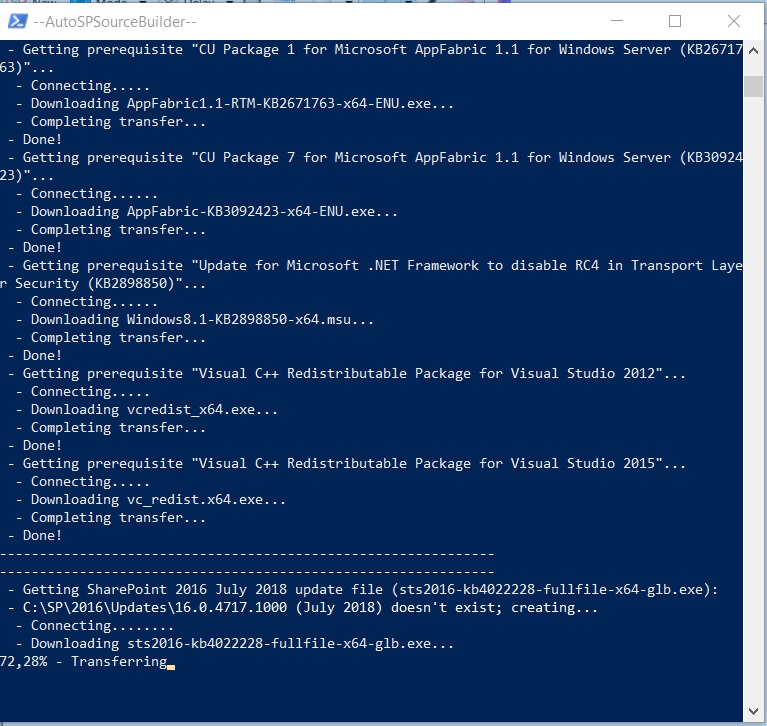 How to install a SharePoint 2016 farm using PowerShell and