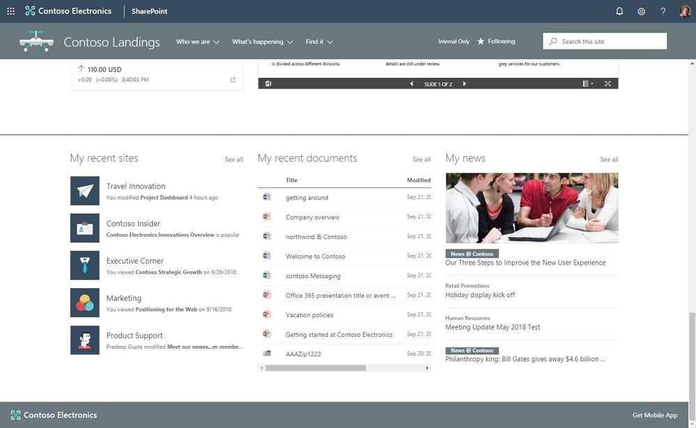 What's New for SharePoint and Office 365 after Microsoft Ignite 2018