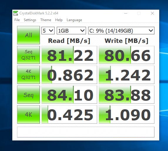 Test HDD - CrystalDiskMark