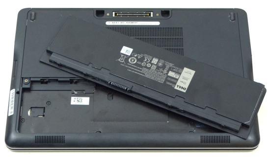 Dell Latitude E7240 - baterie si slot de sim