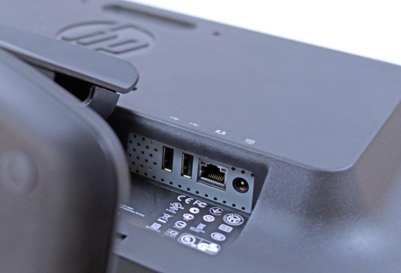 HP t410 AiO Smart Zero Client - 2 x USB 2.0, 1 x LAN Gigabit, Mufa de alimentare