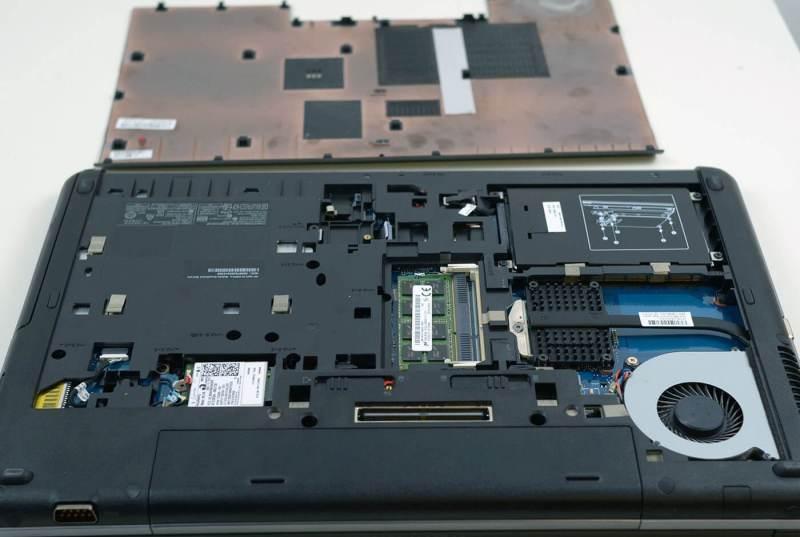 HP Probook 650 G1 - capac inferior desfacut