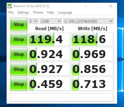 Lenovo ThinkPad T540 - Test HDD