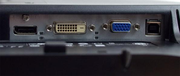 HP Compaq LA2306x - DisplayPort, DVI-D, VGA, input USB