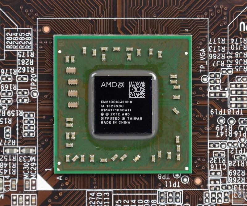 Procesor Kabini - AMD E1-2100 APU