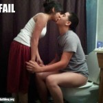 Romantic Kiss Fail?