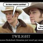Twilight: Because Brokeback Mountain Wasn't Gay Enough