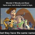 Toy Story Uncut: Andy's Moms Toys