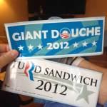 Campaign 2012 Bumper Stickers!