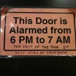 This Door is Overly Emotional