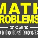 Math Is *NOT* Hard