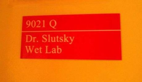 9021 Q - Dr. Slutsky - Wet Lab