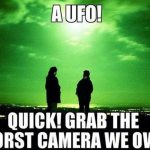 Why Are UFO Photos Always So Bad?