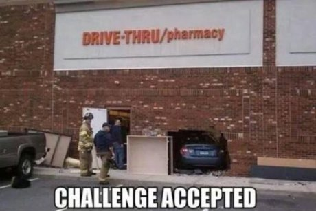 "CVS Drive Thru Pharmacy: ""Challenge Accepted!"""
