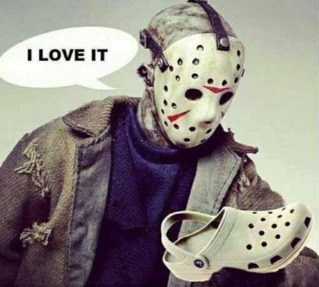 "Jason Voorhees on Crocs: ""I love it"""