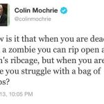 Colin Mochrie on Zombies