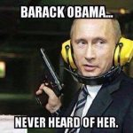 Putin Slams Obama