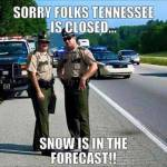 Tennessee: Closed for Snow