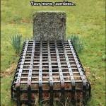 Zombie-Proof Graves?