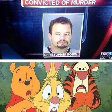 Convicted of Murder: Christopher Robin