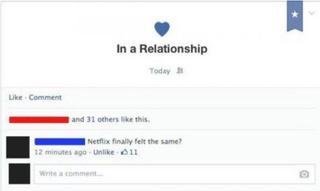 in relationship with facebook