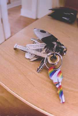 I'm Not Gay. My House Key On the Other Hand…