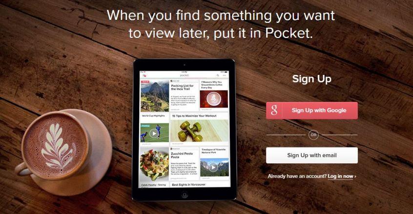 aplikasi pocket