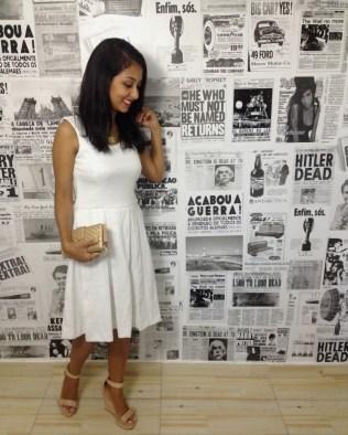 Meu Look - Midi - Blog Izabela Silva - Vestido Midi - Look do dia