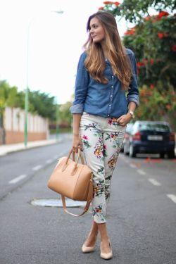 Estampa Floral - Blog Izabela Silva