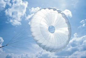 Silk is a perfect material for parachutes!