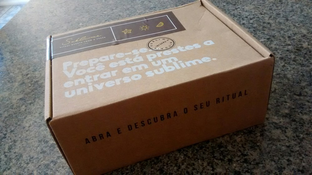 Ritual box - sublime rituais (1/6)