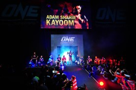 "ONE FC 7: Adam ""Shogun"" Kayoom making his entrance"