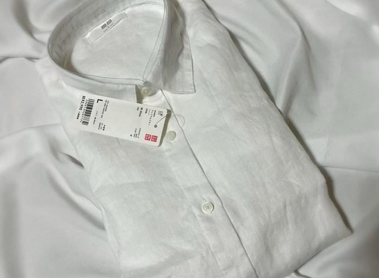 プレミアムリネンシャツ