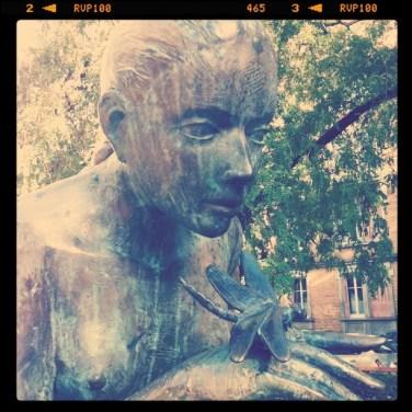 Statue Place de Zurich