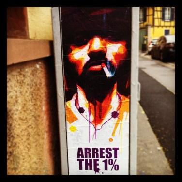 Street art dans les rues de Strasbourg