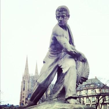 statue-foret-noire-Strasbourg