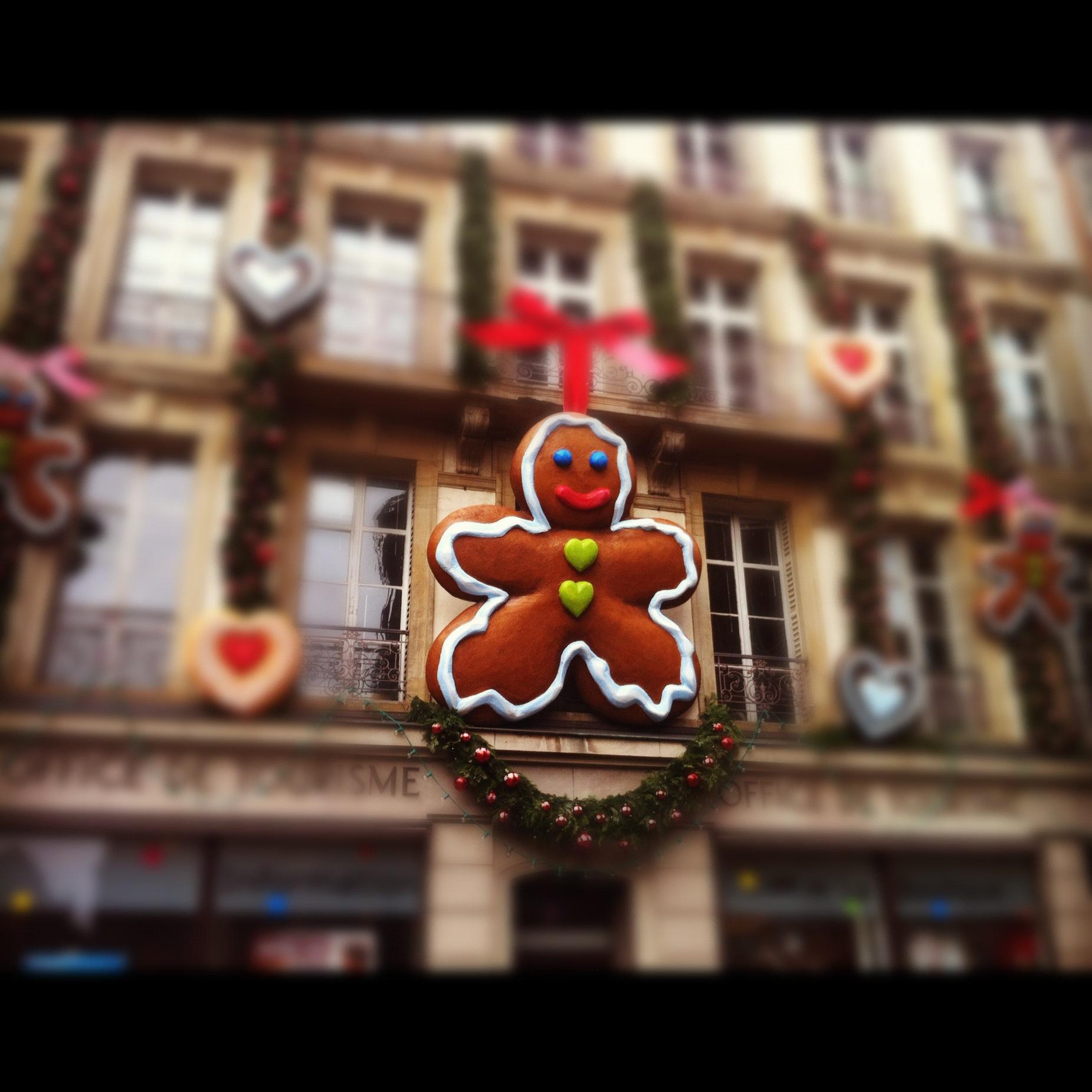Monsieur Pain d'épices à l'office du tourisme de Strasbourg