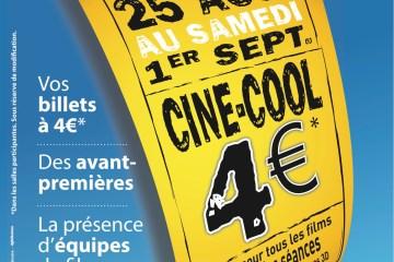 Affiche Ciné Cool 2012
