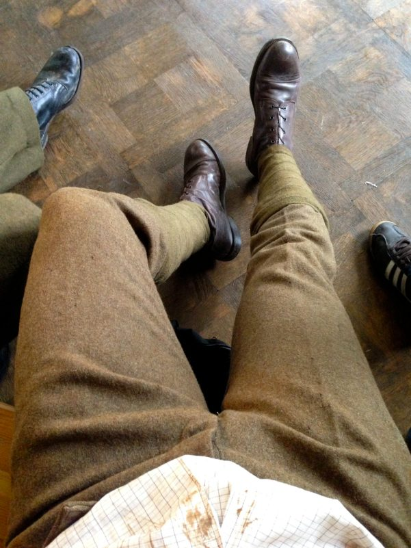 pantalons, bottes...