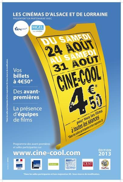 ciné cool 2013 affiche