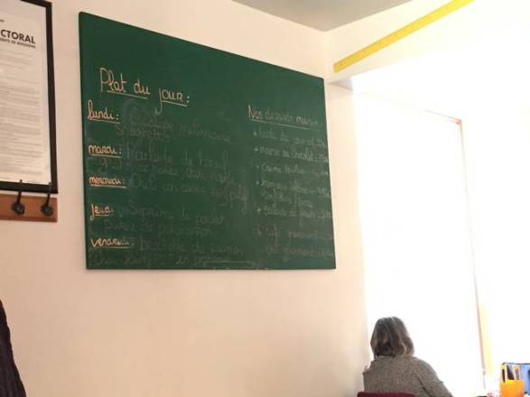 la petite cantoche Strasbourg restaurant menu de la semaine