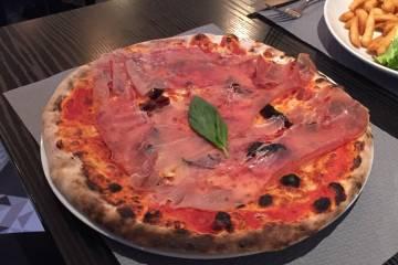 italien du coin pizza proscuitto
