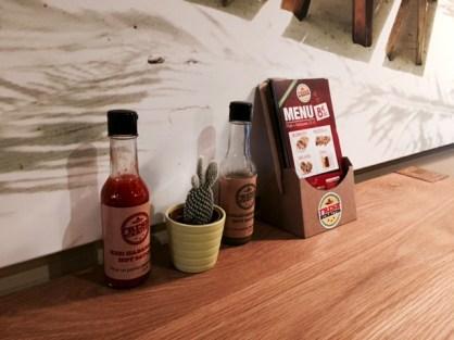 Fresh Burritos Strasbourg sauces